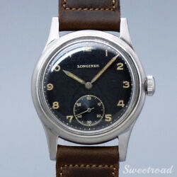 Longines Cal.27m 1940s Manual Hand Wind Authentic Mens Watch Works