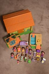 Vintage Dora The Explorer House And Pool With Accessories