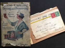 A Louise Andrea / Home Canning Drying And Preserving In The Rare Dustjacket 1st