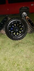 4 New 35×12.50×20 Xtreme Mud Claw Tires And Rims 8 Lug For F250