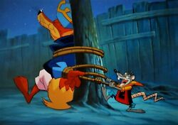And039the Legends Of Treasure Islandand039 1993 Key Master Cel And Background Set-up