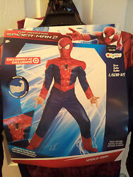 The Amazing Spiderman Costume Size M Or L Marvel Disguise Super Hero Dress-up