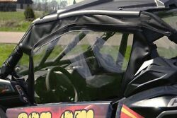 Can Am Maverick X3 Doors And Rear Window - Soft Material - Puncture Proof