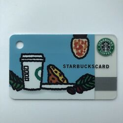 Starbucks Card 2010 Japan Limited Card Blue Mini Tarout New Cond Extremely Rare