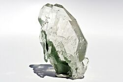 French Quartz With Green Chlorite Phantoms Double Terminated Crystal Specimen