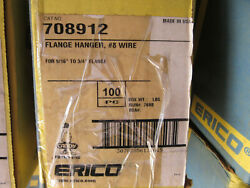 100 Erico Caddy 708912 Flange Hanger 8 Wire For 7/16 - 3/4 Flange New