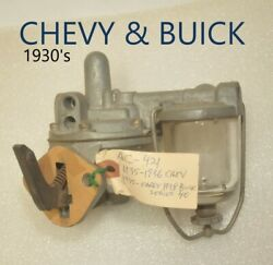 Old 1930and039s Chevy Buick Fuel Pump Antique Vintage Classic Domestic Automotive Usa