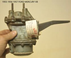 Old Ford Dual Action Fuel Pump Antique Vintage Classic Mercury V8 1950's Usa
