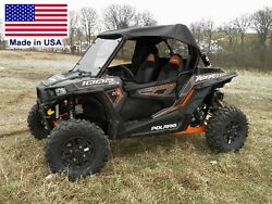 Hard Windshield And Roof For Polaris Rzr 1000 - Canopy - Soft Top - Heavy Duty