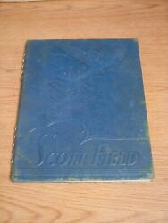 Ww2 Scott Field Pictorial History And Yearbook Army Air Force Training