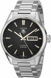 Tag Heuer Men's War201c.ba0723 'carrera' Automatic Stainless Steel Watch