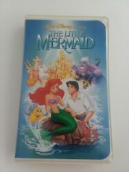 The LITTLE MERMAID ORIGINAL RARE CONTROVERSIAL BANNED COVER VHS