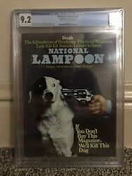 NATIONAL LAMPOON 34 CGC 9.2 Highest on Census We'll SHOOT This DOG January 1973