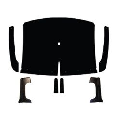 Backorder Only Headliner For 1955-56 Dodge Truck Large With Sail Panels Molded