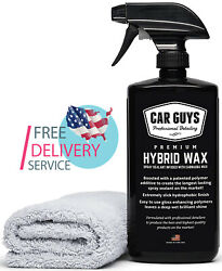 Hybrid Wax Sealant Most Advanced Top Coat Polish & Sealer, All Types of Surfaces