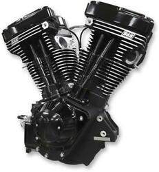 S&S Cycle 310-0828A V111 Long Block Engine - Black