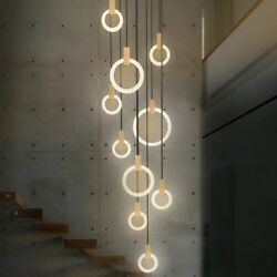 Hanging Lamp Chandeliers For Home Ceiling Fixtures Long Pendant Led Bulbs Lovely