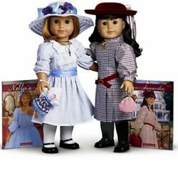 American Girl Samantha and Nellie Doll amp; Accessories NEW NEVER REMOVED $559.00