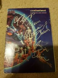 Cathedral Supernatural Birth Machine Signed Autograph Book Cd