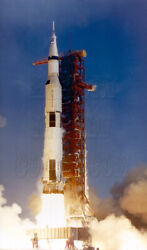 Apollo 11 Launch Lift Off Rocket Fire Saturn V Tower Photo - 6901001
