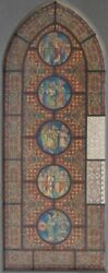 Leicester B. Holland Prize Architect Artist Gothic Painting Stained Glass Design