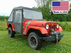 Mahindra Roxor Cab Enclosure - Hard Windshield Roof Doors Rear And Bed Cover