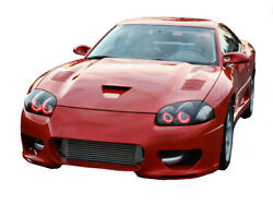 For Dodge Stealth 94-98 Red Led Halo Kit For Headlights