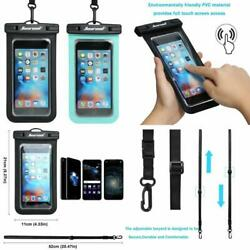 Beach Waterproof Pouch Case Smartphone Iphone Android Samsung S10 S9 Bag Cover $57.36