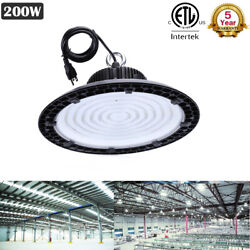 3X 200W UFO LED High Bay Light Ultra-thin Factory Warehouse Lighting Shop Light