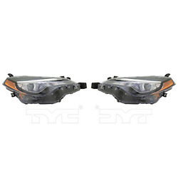 Fits 2017 Toyota Corolla Headlight Driver and Passenger Side NSF Certified Bulbs