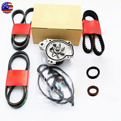 New Timing Belt Kit Water Pump Valve Cover Fits For 01-05 Honda Civic 1.7l