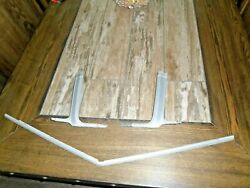 1976 Ford Ranchero 500 / Gran Torino - Grille Surround Lower 3 Pc. Moulding