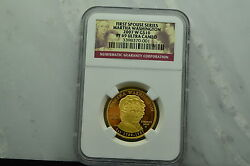 2007-w 10 Gold Commemorative First Spouse Martha Washington Ngc Pf69 Ucam