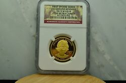 2015-w 10 Gold Commemorative First Spouse Jacqueline Kennedy Ngc Pf69 Ucam