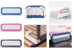Baby Children Safety Bed Cot Rail Bedrail Fold Guard Portable Adjustable Compact
