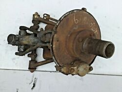 Right Front Suspension W/ Wire Wheel Hub Off A 1967 Mgb —t2–
