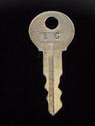 Ignition Switch Key 1c From Remy Series 1a-4cx, 1920's Vintage Olds Auburn