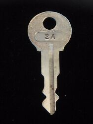 Ignition Switch Key 2a From Remy Series 1a-4cx, 1920's Vintage Olds Auburn