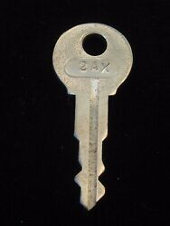 Ignition Switch Key 2ax From Remy Series 1a-4cx 1920and039s Vintage Olds Auburn