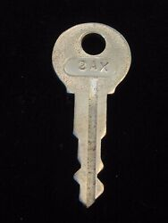 Ignition Switch Key 2ax From Remy Series 1a-4cx, 1920's Vintage Olds Auburn