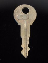 Ignition Switch Key 2b From Remy Series 1a-4cx, 1920's Vintage Olds Auburn