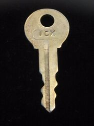 Ignition Switch Key 1cx From Remy Series 1a-4cx, 1920's Vintage Olds Auburn