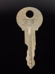 Ignition Switch Key 3b From Remy Series 1a-4cx, 1920's Vintage Olds Auburn