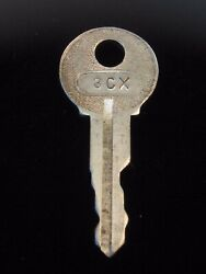 Ignition Switch Key 3cx From Remy Series 1a-4cx, 1920's Vintage Olds Auburn
