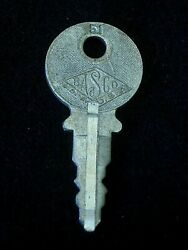 Oem Ignition Switch Key 51 From Briggs And Stratton Series 31-54, 1920's Vintage