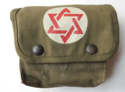 Us Army Israel Idf 1950's Combat Field Medic Bag Ww2 Made By Avery 1943