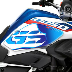 3d Gas Fuel Tank Pad Gs Emblem Protection Stickers Decals For Bmw R1250gs Blue