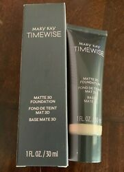 Mary Kay TimeWise Matte 3D Foundation ~ Ivory C 140 *FREE SHIPPING*