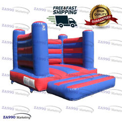 13x11.5ft Commercial Inflatable Bounce House Moonwalk With Air Blower