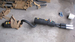 Fiat 125 Special Abarth Exhaust Systemnos